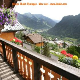 Chalet Chataigne Chatel Skialot